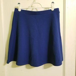 Grover Blue H&M A-Line Miniskirt, M